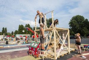 ROTTERDAM - Festival De Bouw. Museumpark.